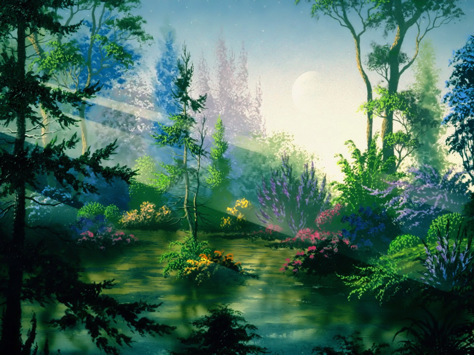 Fantasy forest wallpapers 10621 1600x1200